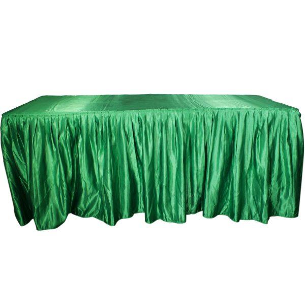 Bambalina verde bandera