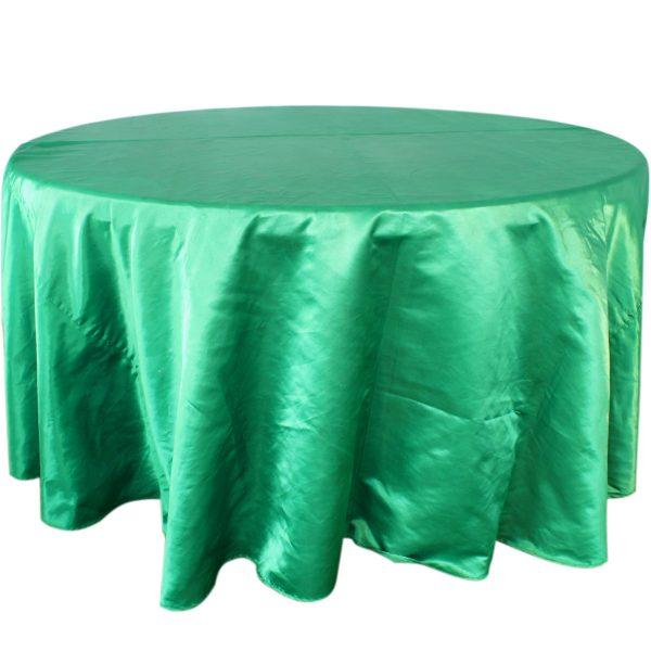 Mantel satín verde bandera