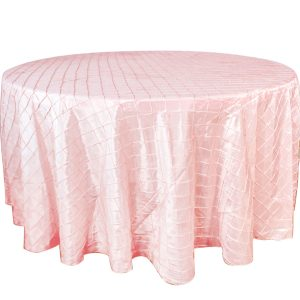 Mantel redondo pintuk rosa bebe