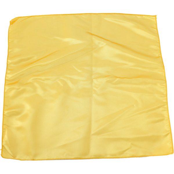 Servilleta satín amarilla