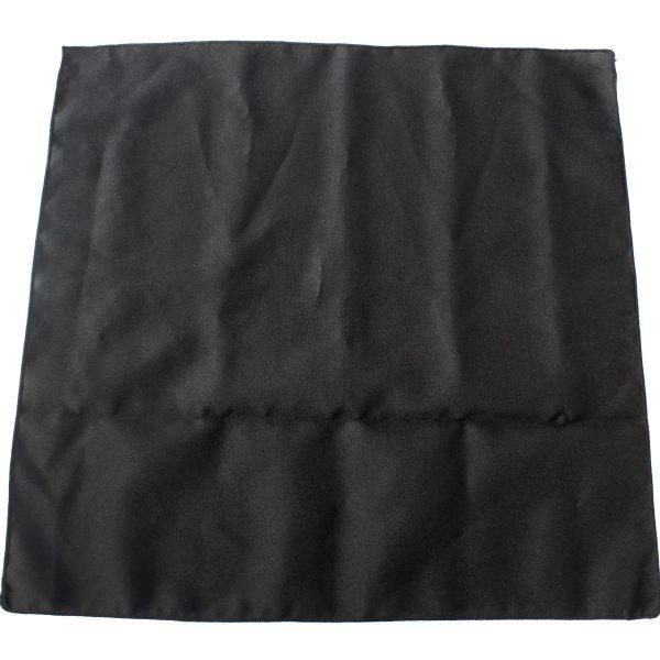 Servilleta poliester negro