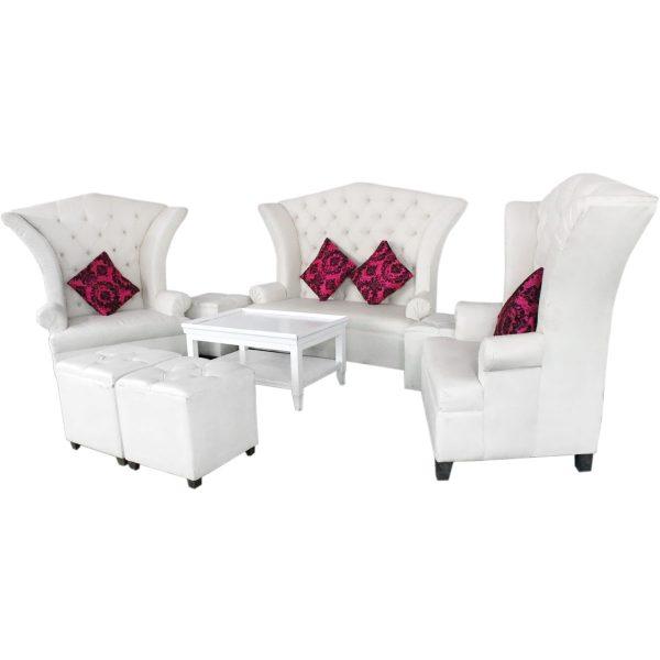 Sala lounge versalles para 8 personas