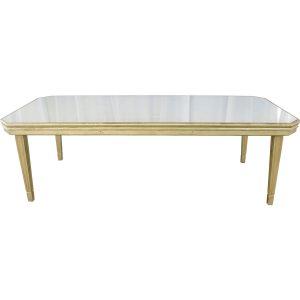 Mesa rectangular vanity (10-12 personas)