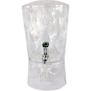 Expendendedor de bebidas cristalino